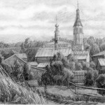 Chuvashov-landscape-drawing