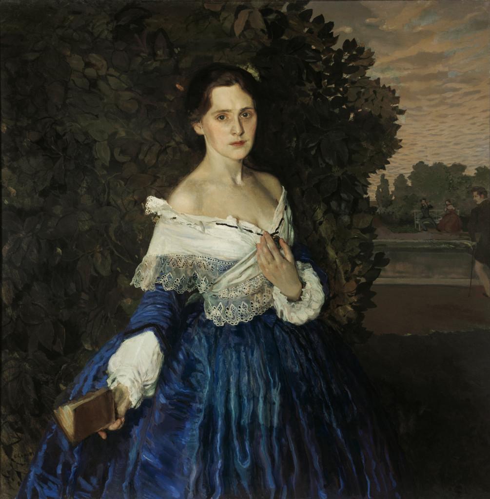 lady-in-blue-portrait-of-the-artist-yelizaveta-martynova-1900