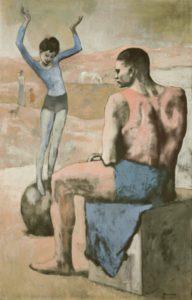 П. Пикассо. Девочка на шаре