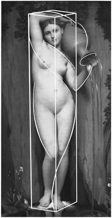 Ж.О.Д. Энгр. Источник. 1820-1856. Музей Д'Орсе, Париж.