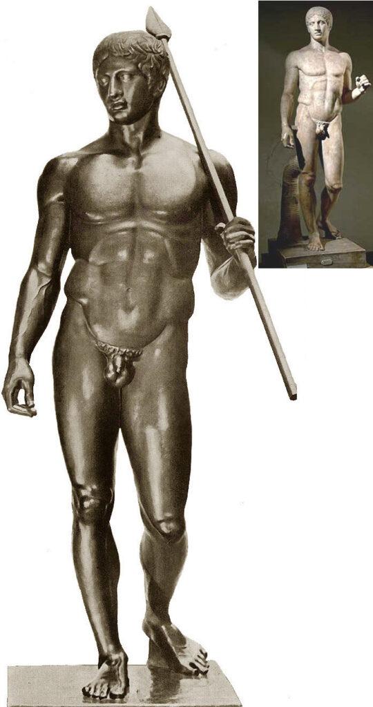 Поликлет Старший. Дорифор (Копьеносец). 450—440 гг. до н. э.